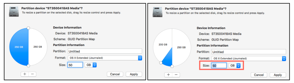 partition device