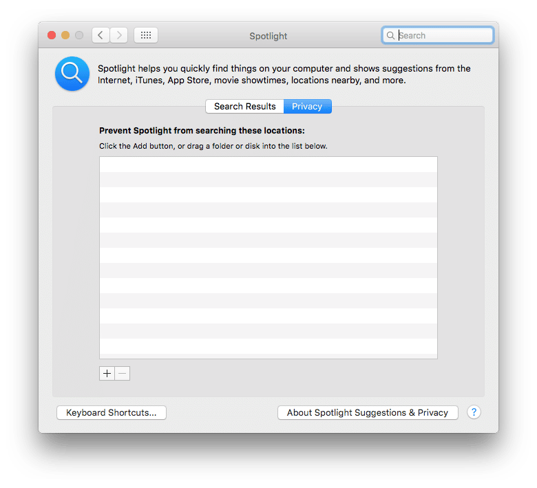 Resolving Spotlight issues in OS X | Amsys