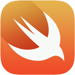Swift logo representing Advanced iOS App Training