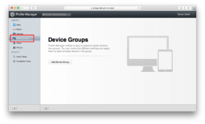 PM - device groups