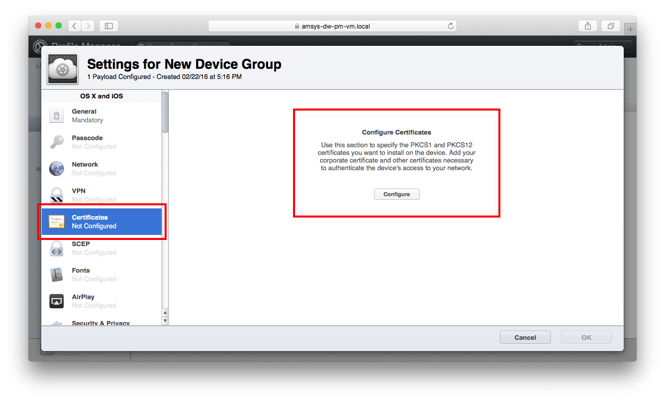 Deploying and Managing the NetSweeper Mac WAgent