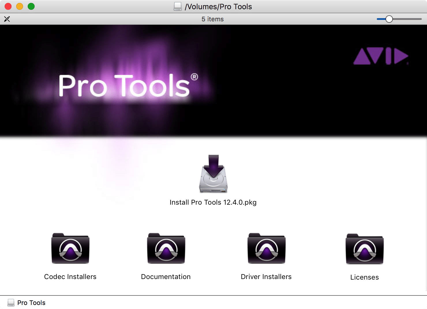 Packaging Pro Tools 12 for deployment