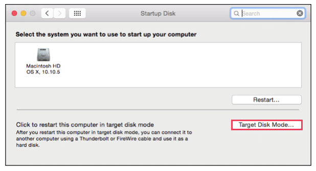 Apple Updates Target Disk Mode | Amsys
